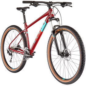 "Marin Bobcat Trail 4 29"", gloss crimson/teal/red"